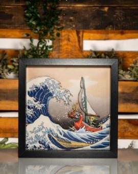 Zelda Windwaker Hokusai